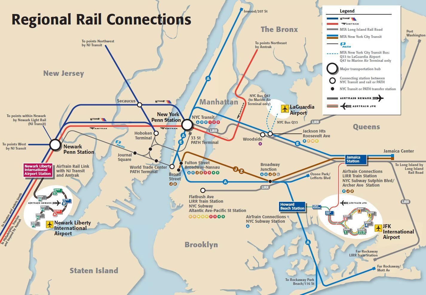 Manhattan Subway Map Nyc.Jfk Airport To Manhattan Subway Map Jfk To Manhattan Subway Map