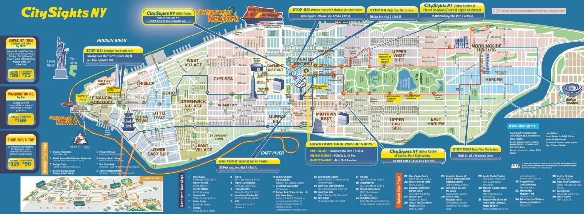 maps new york manhattan